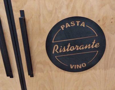 Furniture for restaurant Beatriche (Ristorante)