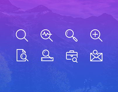 Search Icons Freebie