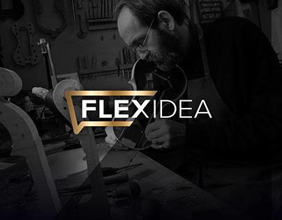 FLEXIDEA. Logo. Branding. Webdesign