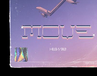 MOVE - HELLOWORLD! / SINGLE COVER ARTWORK