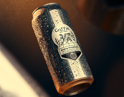 Griffin Dry Cider / Product Photography