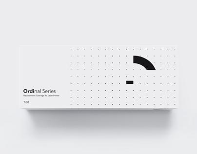 Ordinal Series / Logotype - Packaging
