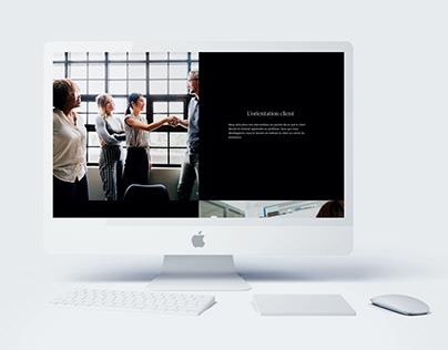 Oxymore Company – Avant-projet | Website Design