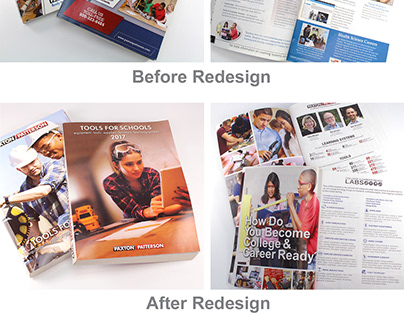 Paxton/Patterson Catalog Redesign