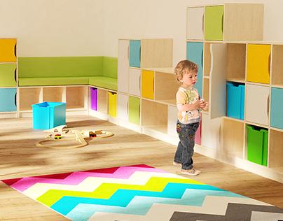 KALL meble - furniture design, product visualisation