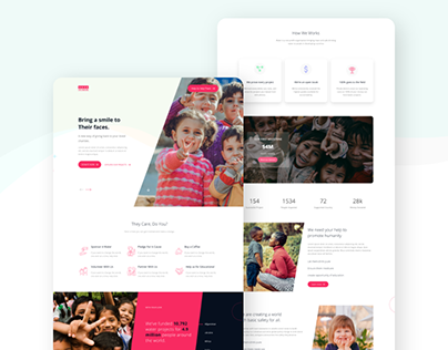 Charity & Donation UI Template
