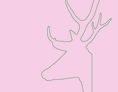 My deer calendar