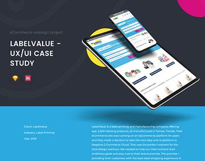 LabelValue UX/UI Case Study