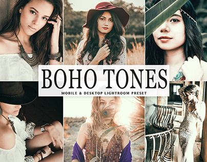Free Boho Tones Mobile & Desktop Lightroom Preset