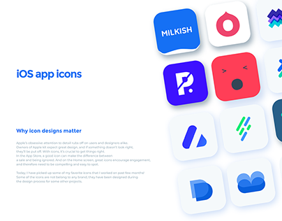 iOS app icon folio