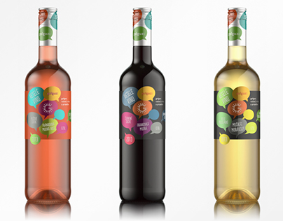 Visualisation of Wine Bottles Golguz