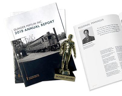 Dunder Mifflin Annual Report