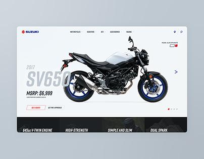 Suzuki Cycles: Site Concept