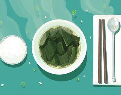 LGAL Foodies Recipe Card: Seaweed Soup