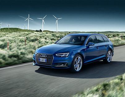 Audi A4 G-Tron Campain