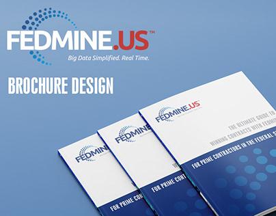 Fedmine - brochure design
