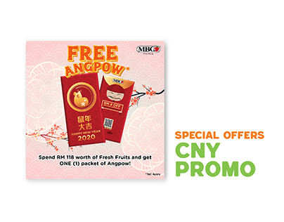 Special Offers: CNY 2020 Promo