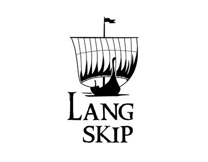 Langskip - business card