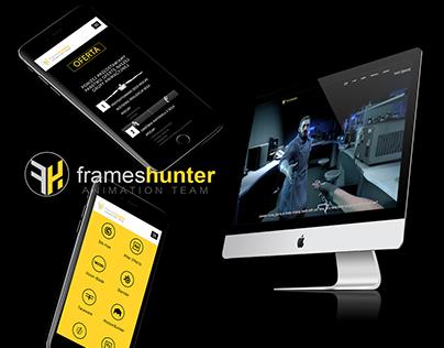 FramesHunter - Web Design
