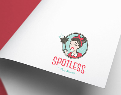 Spotless Home Services Branding