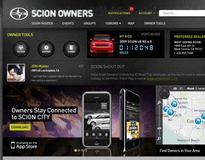 Website - Scion Owners