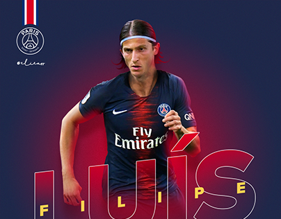 PSG x Filipe Luis (welcome visual concept)