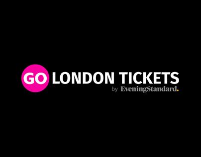 GO London Tickets newsletter