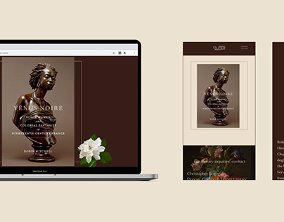 Web Design for Dr. Robin Mitchell