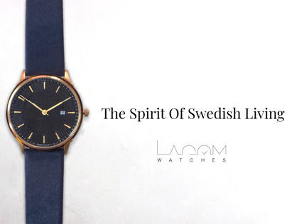Product Shoot - Lagome Watches
