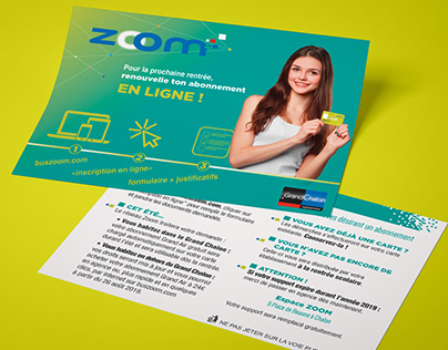 Campagne d'information voyageurs scolaires ZOOM