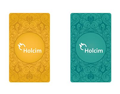 Juego de cartas, Holcim Argentina