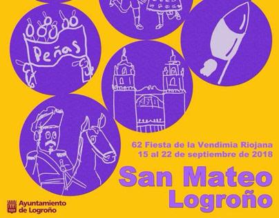 Propuesta Cartel de San Mateo 2018 Logroño