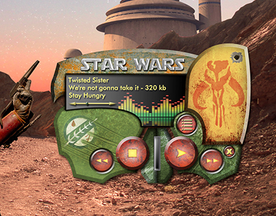 Media Player skin art - Star Wars