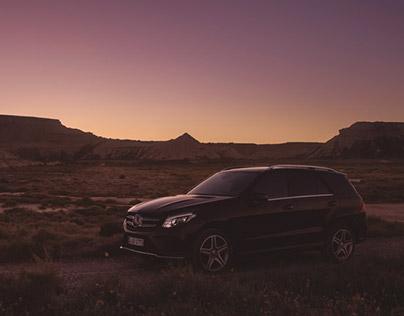 Mercedes-Benz GLE 350 - dark desert