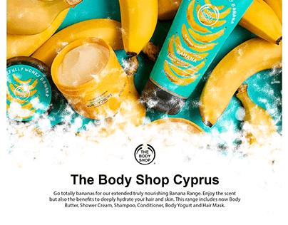 "Social Media Design ""The Body Shop Cyprus"""