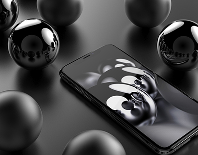 Wallpaper for Space Gray/Black iPhone
