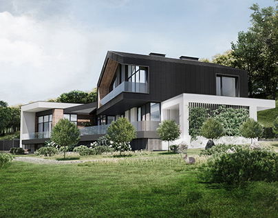 Modern country house by AddLine group