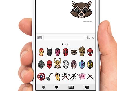 Marvel Emoji Set