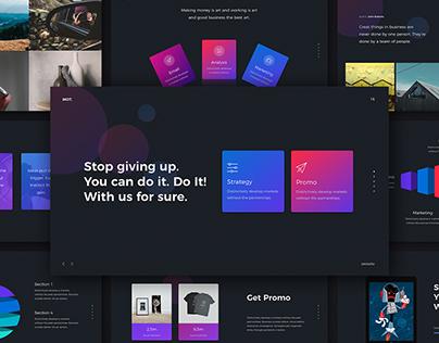 MOT - CReative Presentation Template