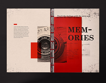 Memories Book Design