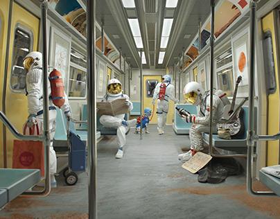 Commuting on Mars