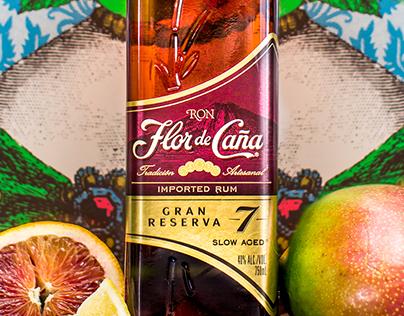 Flor de Caña Product Shots