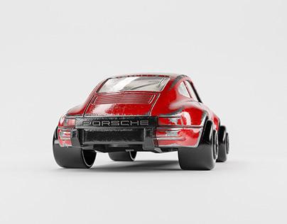 Toy Porsche (free model)
