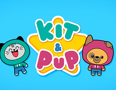 Kit & Pup - TV show characters