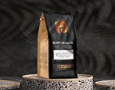 Peacocks Coffee - Packaging Design