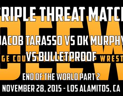 OCCW: Triple Threat Match