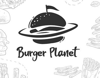 Logo / Burger Planet