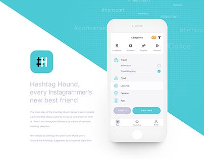 Hashtah Hound App