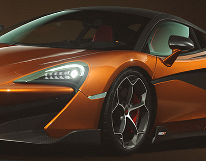 McLaren 600LT - CGI specs and colors