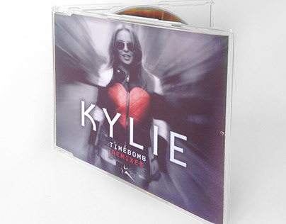 CD Single Design: Kylie - Timebomb Remixes